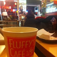 Photo taken at Fluffy's Cafe & Pizzeria by Lia G. on 8/13/2011