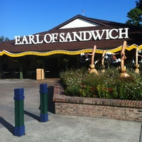 Photo taken at Earl of Sandwich by Bill W. on 7/31/2012