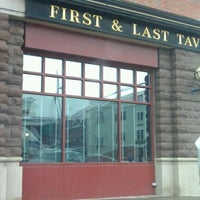 Photo taken at First & Last Tavern by Amy N. on 1/23/2012