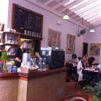 Photo taken at Hearthfire Bakery & Café by Pantelis R. on 10/1/2011