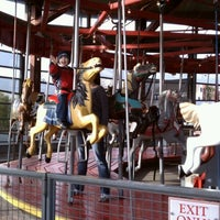 Photo taken at Greenport Antique Carousel by Brent P. on 11/27/2011