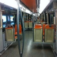 Photo taken at Paradero PC876 (Parada 5) by Fran G. on 12/6/2011