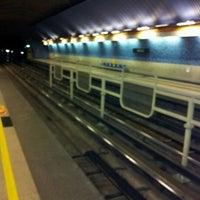 Photo taken at Metro Einstein by Eduardo A. on 1/7/2012