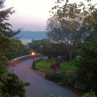 Photo taken at Fort Tryon Park by Tom P. on 7/15/2011
