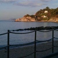 Photo taken at Spiaggia del Cotoncello by Filippo D. on 5/5/2012