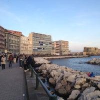 Photo taken at Lungomare di Napoli by Antonio P. on 4/25/2012