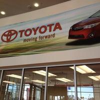 Photo taken at Alamo Toyota by Marcus on 1/28/2012