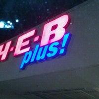 Photo taken at H-E-B plus! by Anne W. on 2/15/2012
