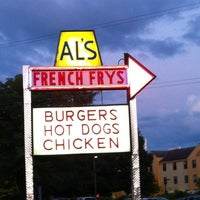 Photo taken at Al's French Frys by Lisa M. on 8/13/2012