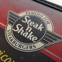 Photo taken at Steak 'n Shake by Tyler M. on 7/8/2012