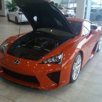Photo taken at Stevinson Lexus Of Frederick by Alex T. on 2/10/2012