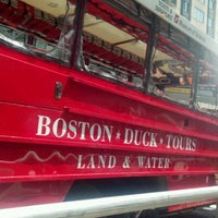 Photo taken at Boston Duck Tour (Prudential Center) by Richard G. on 7/16/2012