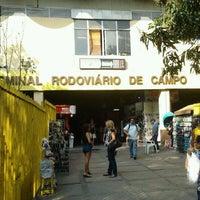 Photo taken at Terminal Rodoviário de Campo Grande by Vanderson L. on 8/15/2011
