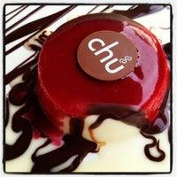 Photo taken at Chu Chocolate Bar & Café by Dale B. on 7/13/2012