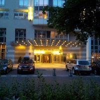 Photo taken at Sheraton Warsaw Hotel by Александра 👪 К. on 7/28/2012