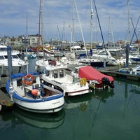Photo taken at Lowestoft Harbour by Keith G. on 6/10/2012