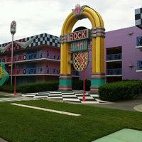 Photo taken at Disney's All-Star Music Resort by Ana Raquel S. on 4/13/2012