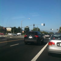 Photo taken at Lawrence Expressway at Homestead Rd. by Lotusstone on 9/6/2011