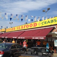Photo taken at Jesse Taylor Seafood by William l. on 8/11/2012