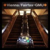 Photo taken at Vienna/Fairfax-GMU Metro Station by Ben F. on 5/21/2012