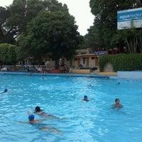 Photo taken at Balneario Agua Hedionda by Víctor R. on 8/17/2012