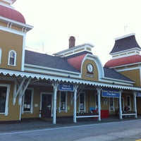 Photo taken at Conway Scenic Railroad by Máté M. on 7/2/2012