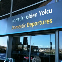 Photo taken at Domestic Departures by Koray S. on 6/17/2012