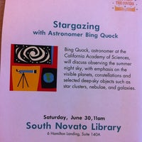 Photo taken at South Novato Library by pauline p. on 6/30/2012