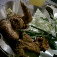 """Photo taken at Ayam Goreng """"Bu Rudi"""" by MadeMoron on 6/11/2012"""
