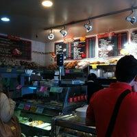 Photo taken at The Bagel Store by Kotaro H. on 5/10/2012