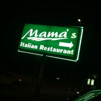 Photo taken at Mama's Italian Restaurant by Sam R. on 5/20/2012