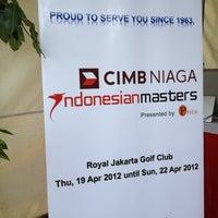 4/21/2012 tarihinde Punkysziyaretçi tarafından Royale Jakarta Golf Club'de çekilen fotoğraf