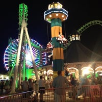 Photo taken at Morey's Piers and Beachfront Waterparks by Andrea H. on 8/17/2012