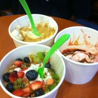 Photo taken at Yogurt Madness by Maria B. on 8/4/2012