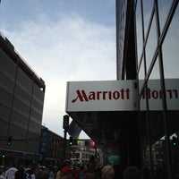 Photo taken at Marriott Hotel - City Center by Don P. on 5/19/2012