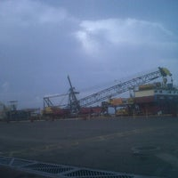 Photo taken at Muelle Norte Zulima by Monica I. on 7/18/2012