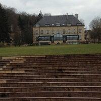 Photo taken at Domaine de Volkrange by Bruno D. on 3/11/2012