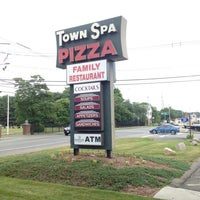 Photo taken at Town Spa Pizza by Jeff D. on 7/1/2012