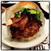 Photo taken at Milk & Mellow Burgers by Danilo L. on 2/20/2012