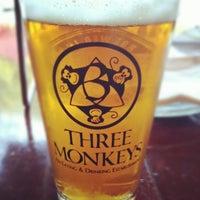 Photo taken at Three Monkeys by Chris B. on 8/30/2012