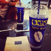 Photo taken at Coffee World @ Central Khonkaen by Gong P. on 6/29/2012