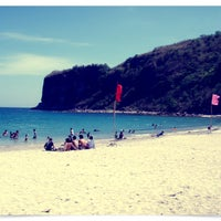 Photo taken at Marine Base Ternate Beach Resort by Jenen V. on 4/8/2012