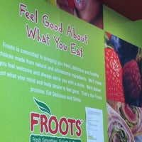 Photo taken at Froots by Fernanda C. on 8/11/2011
