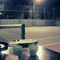 Photo taken at K99 Tennis Court by Ân H. on 7/9/2012