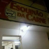 Photo taken at Esquinão Da Carne by Pedro P. on 12/19/2011