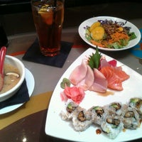 Photo taken at Maiko Sushi Lounge by Christopher S. on 9/10/2012