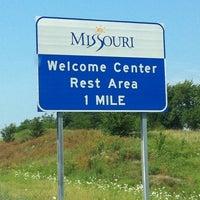 Photo taken at Missouri/Iowa State Line by Leslie B. on 7/17/2011