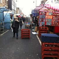 Photo taken at Chapel Market by D1v1d on 12/23/2010