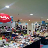 Photo taken at งานสัปดาห์หนังสือ ครั้งที่ 3  by bigpig on 8/13/2011