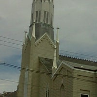 Photo taken at St. Mary's Catholic Church by thispositivelife (. on 10/9/2011